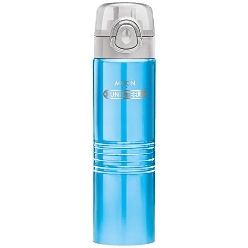 Milton Vogue Stainless Steel Water Bottle, 750 ml, Blue