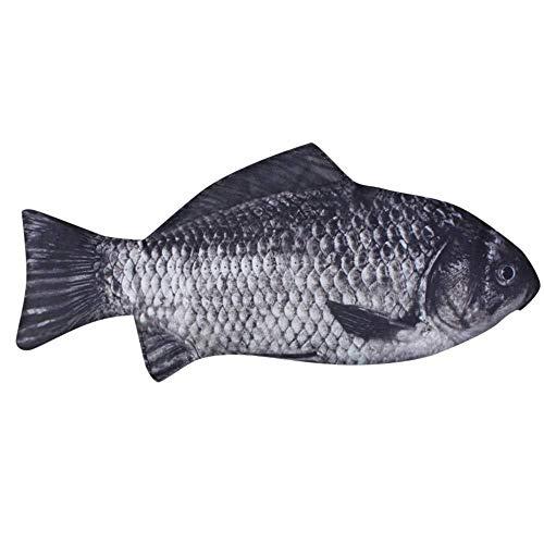 Carp Pen Bag Forma Realistica Di Pesce Compone La Cassa Di Matita Della Penna Con La Chiusura Lampo