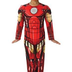 Deluxe Iron Man - Avengers Assemble - Childrens Disfraz