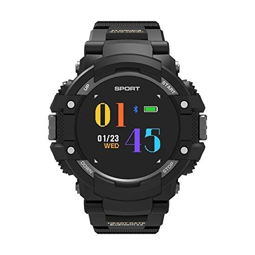 Reloj inteligente deportivo con altímetro/brújula y gps , Smart Watch para la carrera a pie, la senderismo y escalada, IP67impermeable Monitor de ritmo cardiaco para hombres y Aventuriers