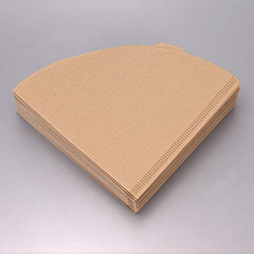 """Urban Platter V60 Natural Coffee Filter Paper, Size - 7"""" W x 5"""" H [100 Sheets, Coffee Sock, Disposable, Hario Compatible] 6"""