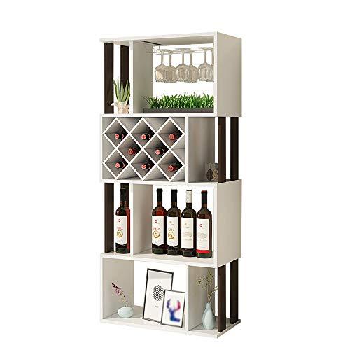 QM-Ripiani Qing MEI Cantinetta da Terra per Casa, Vetrinetta per Vini da Bar Creativa, Mobile da...