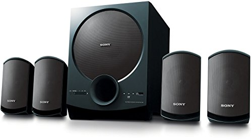 Sony SA-D40 C E12 4.1 Channel Multimedia Speaker System with Bluetooth (Black)