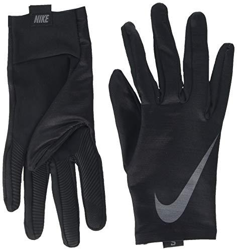 Nike Base Layer - Guanti da Allenamento da Uomo, Uomo, N.WG.I3.026, Nero/Grigio, L