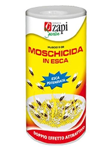 Moschicida in esca muscid 5gb zapi insetticida con attrattivi sessuali 400 gr.