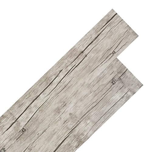 SOULONG Listoni per Pavimentazione in PVC, 36 Pezzi autoadesiva di Pavimento 5,02 m² Pavimenti...