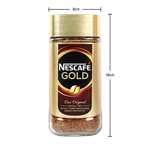 Nescafe Gold Blend Coffee Golden Roast, 200 g 7