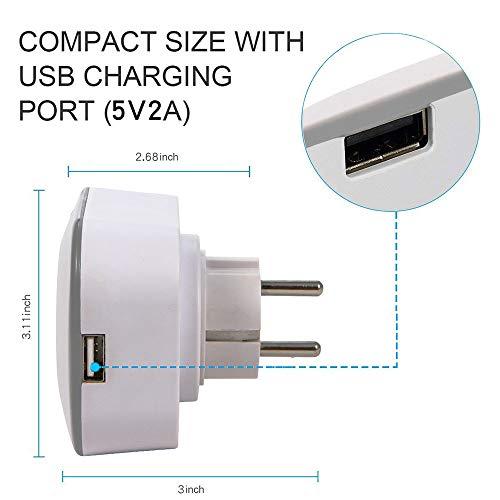 WMIAO WiFi Smart Plug Environnement, Mobile APP Remote Control Timing/Télécommande Prise De Commutateur Alexa Voice Control Goole Assistabt,... 24