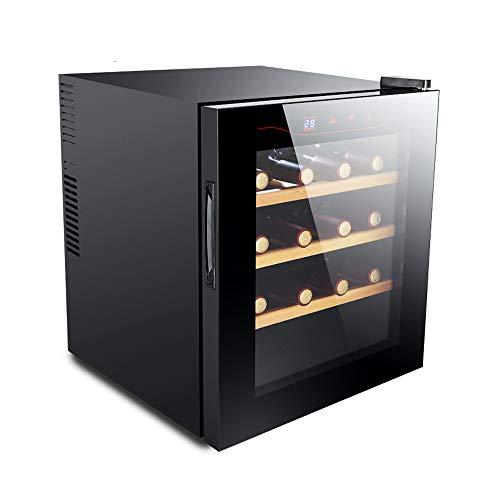 FREIHE Cantinetta Vino Bar 16 Bottiglia, Porta Vetro Temperatura 50Hz 30dB 11 a 18°C Doppio Vetro...