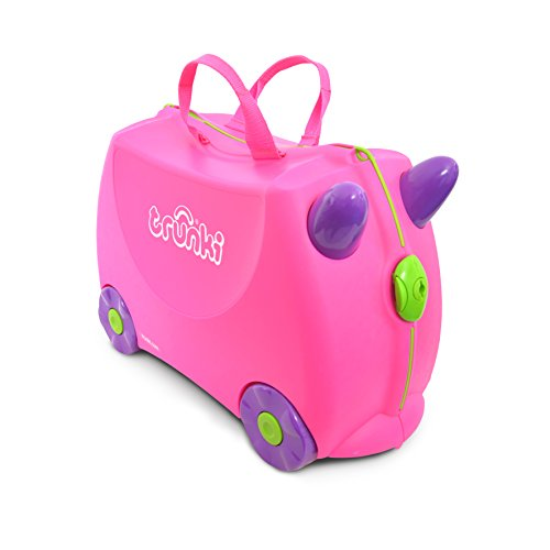 Trunki Valigia Cavalcabile Per Bambini: Trixie (Rosa)