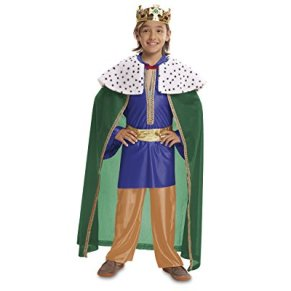 My Other Me - Disfraz de Rey mago, talla 7-9 años, color azul (Viving Costumes MOM00476)