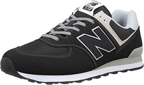 New Balance Herren 574v2 Core Sneaker, Schwarz (Black), 44.5 EU