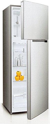 Daya Home Appliances DDP-357DX, Frigorifero doppia porta inox, 344 litri