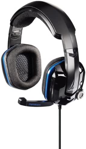 uRage Paradox 7.1 Gaming-Headset mit Bass Vibration, LEDs, USB, schwarz