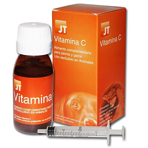 JTPharma - Vitamina C para perros y gatos, 55 ml