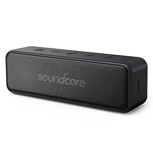 Anker Sound Core Motion B altoparlante Bluetooth portatile, design compatto con 12W stereo Sound e forte bassup tecnologia, 12ore di durata della batteria, IPX7impermeabile, per casa, esterno, Viaggi e altro ancora