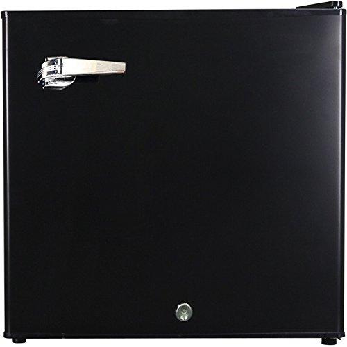 Syntrox Germany 50 litri silenzioso 39 db Retro frigorifero con contenitore per il ghiaccio la...