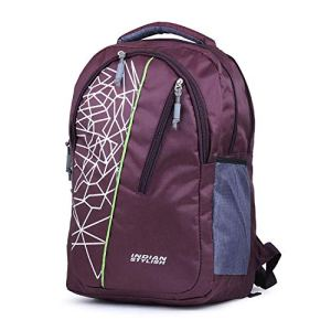 INDIAN STYLISH 26Ltrs Polyester Purple College and School Bags 28  INDIAN STYLISH 26Ltrs Polyester Purple College and School Bags 41HCJNCPahL