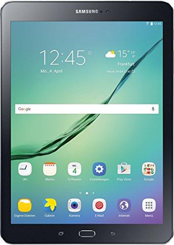 Samsung Galaxy Tab S2 T813 24,6 cm (9 7 Zoll) WI Fi Tablet PC (2 Quad Core Prozessoren 1,8 GHz + 1,4GHz 3GB RAM Android) schwarz