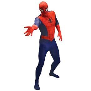 Morphsuits Traje Adultos Oficial Marvel Básico Spiderman - XX-Grande 6'2