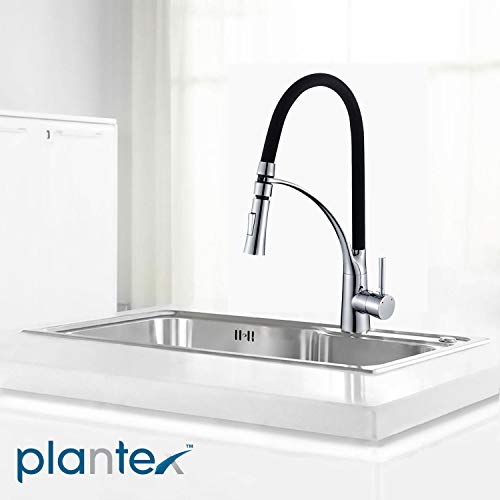 Plantex Prime Kitchen Sink Tap/Faucet(360 Degree) Swivel Spout Single Lever Pull Out Kitchen Sink Tap/Kitchen Mixer Tap Hot & Cold (Brass)