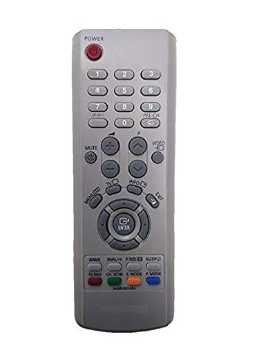 SAE Samsung CRT TV Remote Control (Silver)