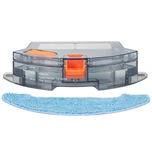 41HLol7XxeL [Bon Plan Ecovacs] Aspirateur Robot, Bagotte BG600 aspirateur robot laveur 1600 Pa Succion, 6,9 cm Super Slim pour le nettoyage du pollen, des poils d'animaux, des tapis, des sols durs.