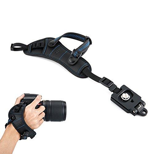 JJC cinghia da polso cinturino da polso grip con Arca tipo piastra per DSLR Canon Nikon Olympus Sony Panasonic Pentax