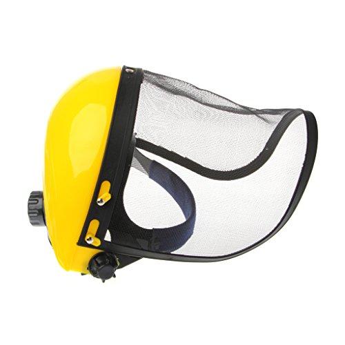 Dabixx Careta, Visor de Malla de protección Facial Browguard Ideal para desbrozadora Trimmer Strimmer Shield