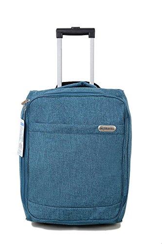 EasyJet Cabin Bag bagaglio a mano Suitecase superleggeri con estensione maniglia e ruote perfetta...