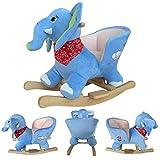 Forever Speed Elefante Caballito Balancin Bebe Caballo de Oscilación Niños