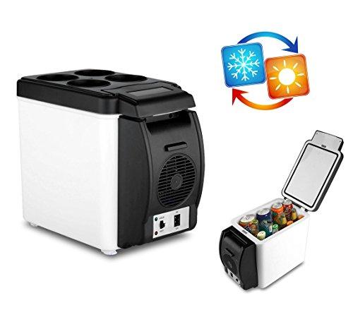 203002 Frigo Portatile per Auto 2 in 1 Caldo e Freddo 6 Litri Alimentazione 12 V. Media Wave Store