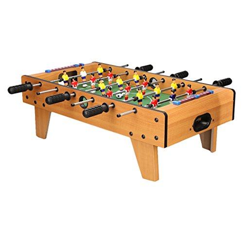 """Virhuck Mini Tischplatte Tischkicker Tischbillard, Indoor & Outdoor Tisch Fußball Spiel Set für Kinder (27"""" Football)"""