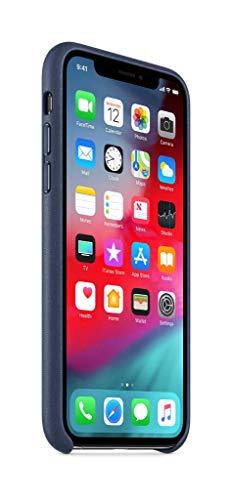 Apple Coque en Cuir (pour iPhoneXS) - Bleu Nuit 24