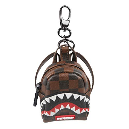 Sprayground | Portachiavi Sharks In Paris Marrone | SPR_910K1816SS19