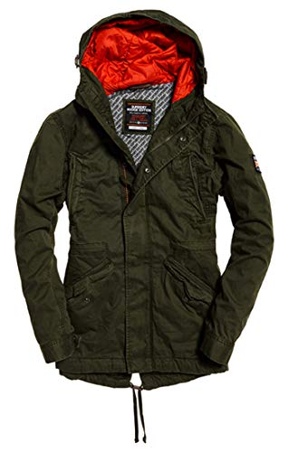 Superdry New Rookie Military Parka Blu (Forest Night Tdf), Medium (Taglia Produttore:M) Uomo