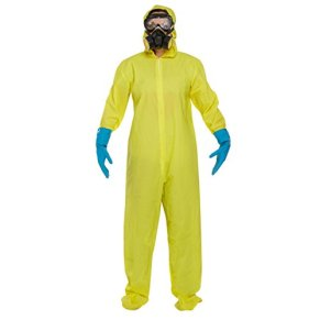 Adults Bad Chemist Fancy Dress Costume Includes Jumpsuit, Mask, Goggles & Gloves by My Planet