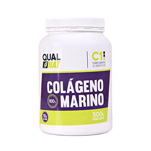 Qualnet Colageno Marino, Hidrolizado, 300gm, Colageno Propiedades Beneficios