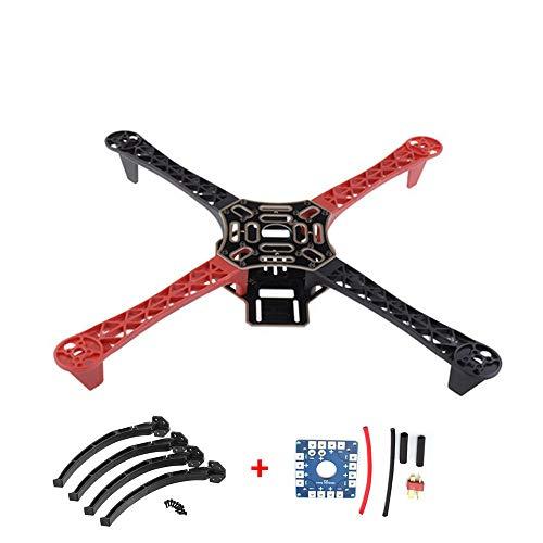 Qiyun Idee Regalo Capodanno/Natale/Pasqua/Ognissanti,F450 Drone con Camera FlameWheel Kit 450 Telaio...