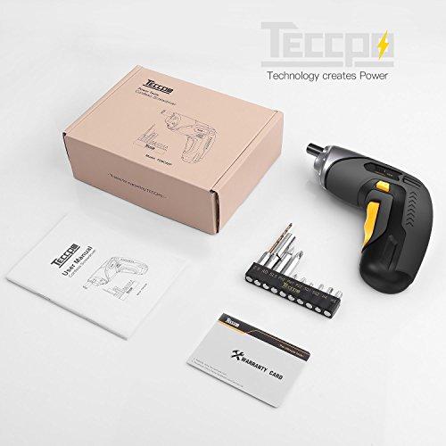 Cordless Screwdriver TECCPO