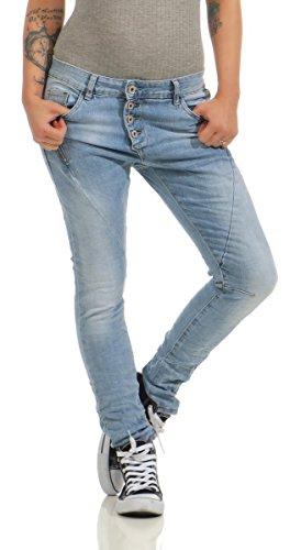 4104e446f79157 LEXXURY Damen Jeans Röhrenjeans Hose | Der Jeans-Vip Shop
