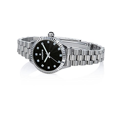 Orologio Donna Luxury Diamonds Nero 2569LD-S07 - Hoops