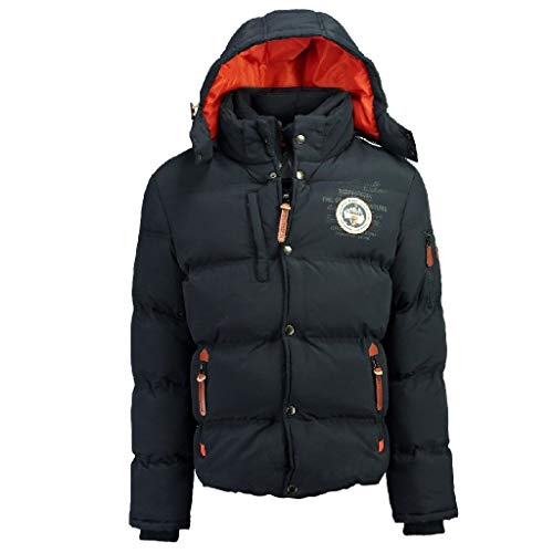 Geographical Norway Parka Uomo VERVEINE Nero S