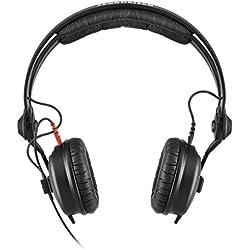 Sennheiser HD 25 Supraaural Diadema Negro - Auriculares (Supraaural, Diadema, 16 - 22000 Hz, 200 mW, 120 dB, 70 Ω)