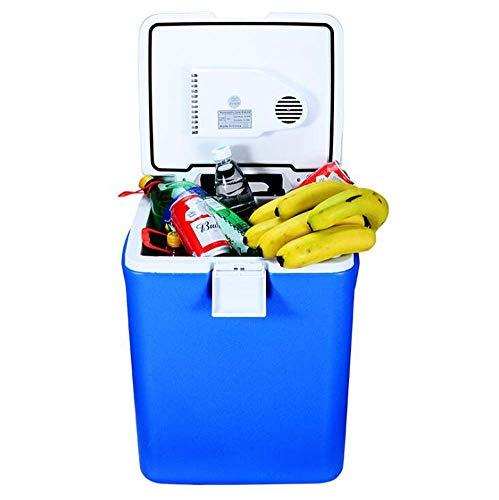 SHIBINGX 30 L frigo Auto, radiatore Elettrico a Ruote e Frigorifero Portatile più Caldo con Spina...