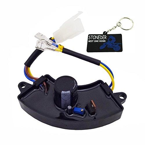 stoneder AVR regulador de voltaje del rectificador para Gas Gasolina Generador de gasolina 2KW 2.2kW 2,5kW 2,8kW 3kW