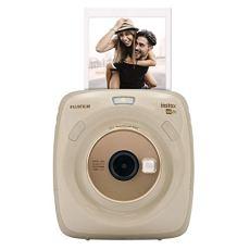 Fujifilm Cámara instantánea SQ 20 - Color Beige Fujifilm Instax Square SQ 20 Color Beige. Cámara híbrida instantánea BeigeSquare
