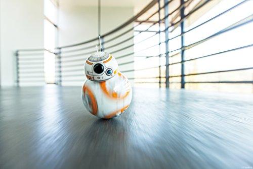 41Hlwub65rL - Sphero R001ROW, Robot electrónico droide BB-8 Star Wars (R001ROW)