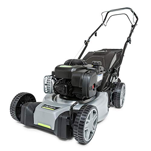 This Murray EQ300 Self-propelled Petrol Lawn Mower is our second best recommendation, at least because of its Briggs & Stratton 300E SERIES engine. Briggs & Stratton's engines have set the benchmark  in terms of performance for self-propelled lawnmowers all around the world.