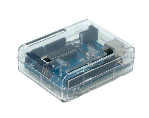 41Ho1kWfz L - SB Components Uno R3 Case Clear - Caja para Arduino Uno R3, Transparente